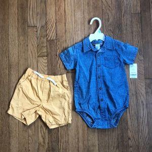 NWT | Carter's baby set ✨